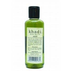 Buy Khadi Amla Hair Oil - Nykaa