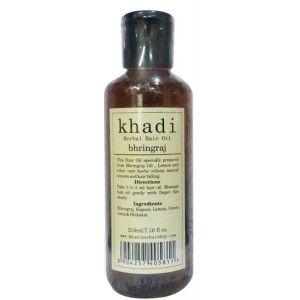 Buy Khadi Bhringraj Hair Oil - Nykaa