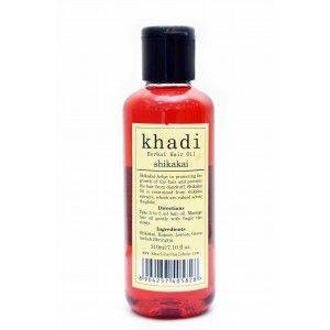 Buy Khadi Shikakai Hair Oil - Nykaa