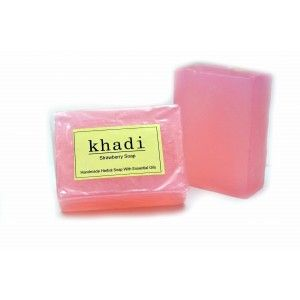 Buy Khadi Strawberry Soap - Nykaa