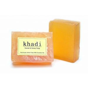 Buy Khadi Sandal & Honey Soap - Nykaa