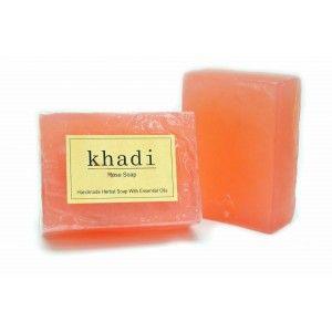 Buy Khadi Rose Soap - Nykaa