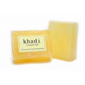 Buy Khadi Lemongrass Soap - Nykaa