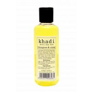 Buy Khadi Lemongrass & Orange Body Wash - Nykaa