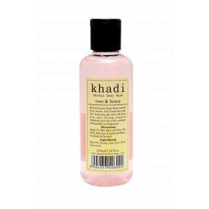 Buy Khadi Rose & Honey Body Wash - Nykaa