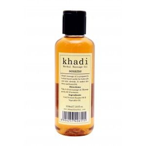 Buy Khadi Sesame Massage Oil - Nykaa