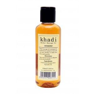 Buy Khadi Sesame Massage Oil - Nykaa