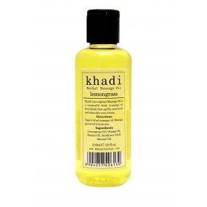 Buy Khadi Lemongrass Massage Oil - Nykaa