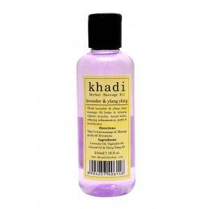 Buy Khadi Lavender & Ylang Ylang Massage Oil - Nykaa