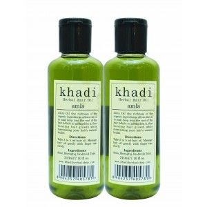 Buy Khadi Amla Hair Oil (Pack of 2) - Nykaa