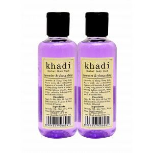 Buy Khadi Lavender & Ylang Ylang Body Wash (Pack of 2) - Nykaa