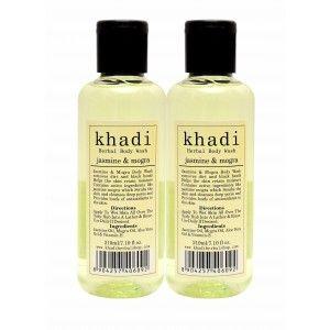 Buy Khadi Jasmine & Mogra Body Wash (Pack of 2) - Nykaa
