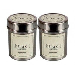 Buy Khadi Aloe Vera Face Pack (Pack of 2) - Nykaa