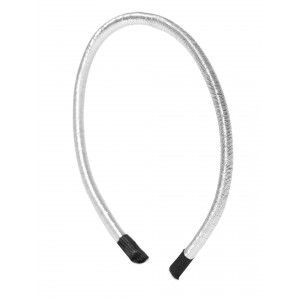 Buy Toniq Silver Coil Hair Band - Nykaa