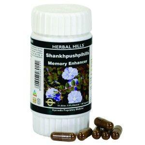 Buy Herbal Hills Shankhpushpihills Capsule - Nykaa