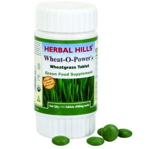 Buy Herbal Hills Wheat-O-Power Tablets - Nykaa