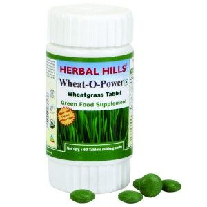 Buy Herbal Hills Wheat-O-Power Tablet - Nykaa