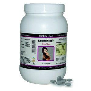 Buy Herbal Hills Keshohills Tablets Value Pack - Nykaa