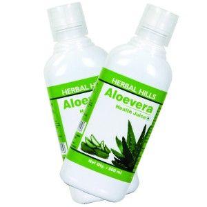 Buy Herbal Hills Aloevera Juice (Combo) - Nykaa