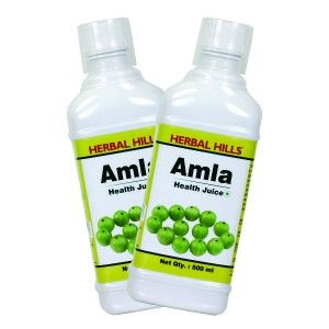 Buy Herbal Hills Amla Juice (Combo) - Nykaa