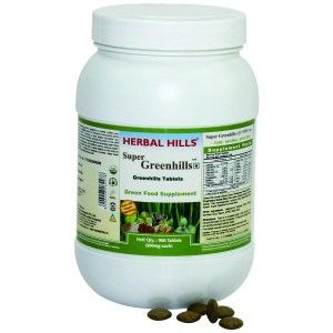 Buy Herbal Hills Super Greenhills Tablets Value Pack - Nykaa