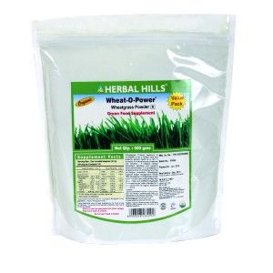 Buy Herbal Hills Wheat-O-Power 500 Gm (Value Pack) Powder - Nykaa