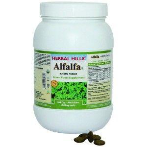 Buy Herbal Hills Alfalfa Tablets Value Pack - Nykaa