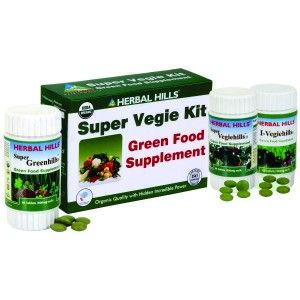 Buy Herbal Hills Super Vegie Kit ( Super Greenhills, Super Vegiehills, I Vegiehills) - Nykaa