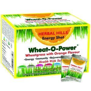 Buy Herbal Hills Wheat-O-Power Orange Flavour 2g X 30 Sachets Powder - Nykaa