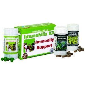 Buy Herbal Hills Imunohills Kit (Imunohills,Tulsihills, Wheat-O-Power) - Nykaa