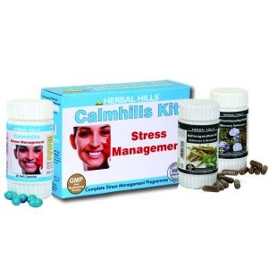 Buy Herbal Hills Calmhills Kit (Calmhills, Ashwagandhahills, Shankhpushpihills) - Nykaa