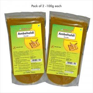 Buy Herbal Hills Ambehaldi Powder - Nykaa