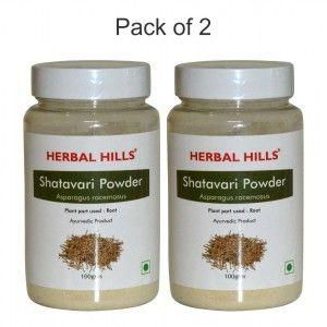 Buy Herbal Hills Shatavari Powder - Nykaa