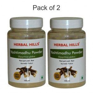 Buy Herbal Hills Yashtimadhu Powder - Nykaa