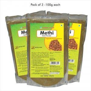 Buy Herbal Hills Methi Seed Powder - Nykaa
