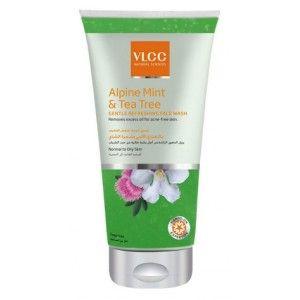 Buy VLCC Alpine Mint & Tea Tree Gentle Refreshing Face Wash - Nykaa