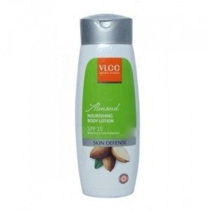 Buy VLCC Almond Nourishing Body Lotion With SPF 15 - Nykaa