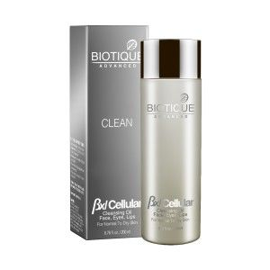 Buy Biotique Advanced BXL Cellular Clean Cleansing Oil Face- Eyes- Lips - Nykaa