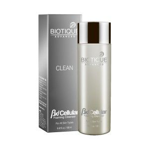 Buy Biotique Advanced clean BXL Cellular Foaming Cleanser - Nykaa