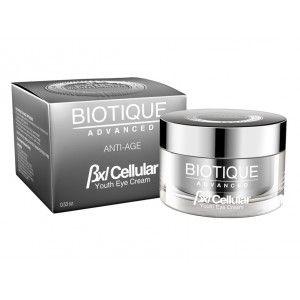 Buy Biotique Advanced BXL Cellular Almond Youth Eye Cream - Nykaa