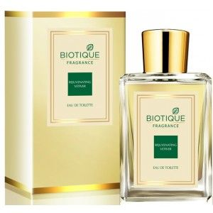 Buy Biotique Rejuvenating Vetiver Eau De Toilette - Nykaa