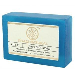 Buy Khadi Natural Pure Mint Soap - Nykaa