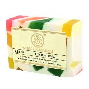 Buy Khadi Natural Mix Fruit Soap - Nykaa