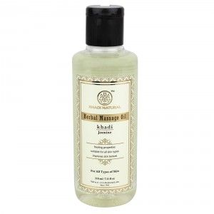 Buy Khadi Natural Jasmine Herbal Massage Oil - Nykaa
