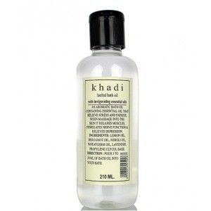 Buy Khadi Natural Bath Oil With Invigorating Essential Oil - Nykaa