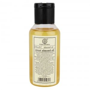 Buy Khadi Natural Sweet Almond Oil - Nykaa