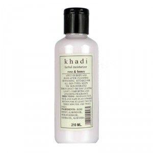 Buy Khadi Natural Herbal Face & Body Moisturizer Rose & Honey  - Nykaa