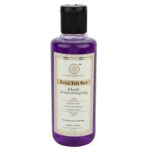 Buy Khadi Natural Lavender & Ylang Ylang Herbal Body Wash - Nykaa