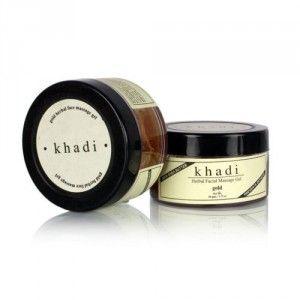 Buy Khadi Natural Gold Herbal Facial Gel - Nykaa