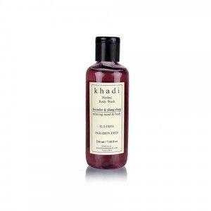 Buy Khadi Lavender & Ylang Ylang Body Wash - SLS & Paraben Free - Nykaa